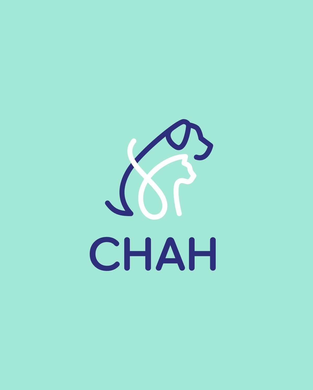 CHAH logo on green