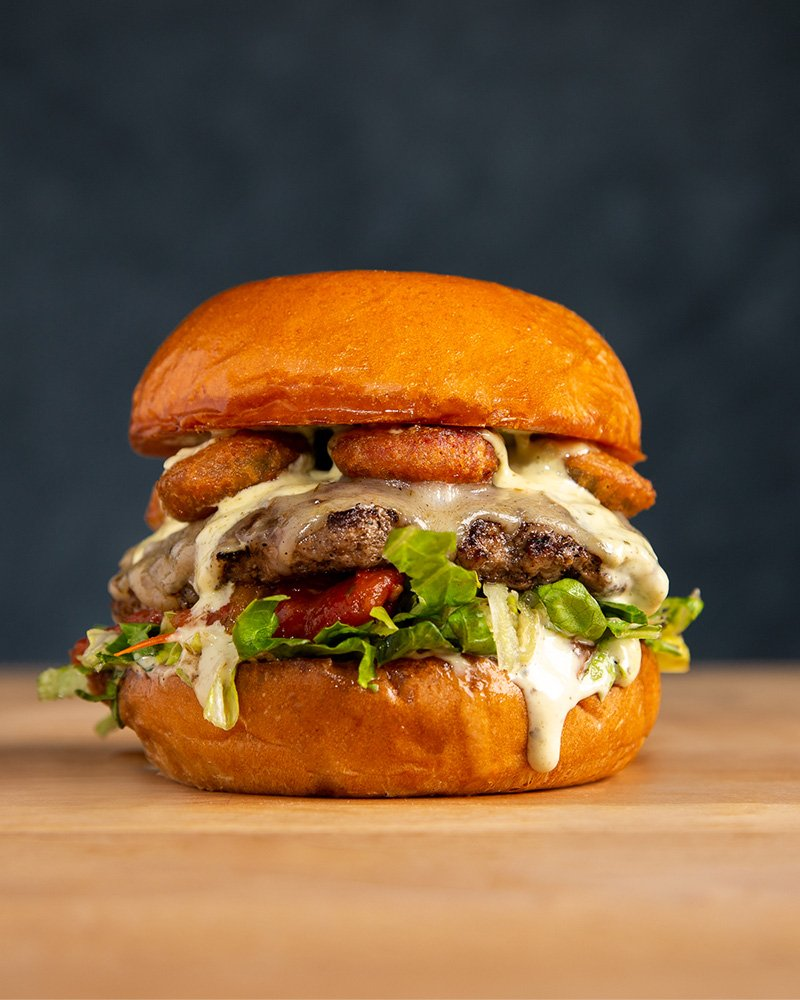 Houston Food Photography - Burger Photo
