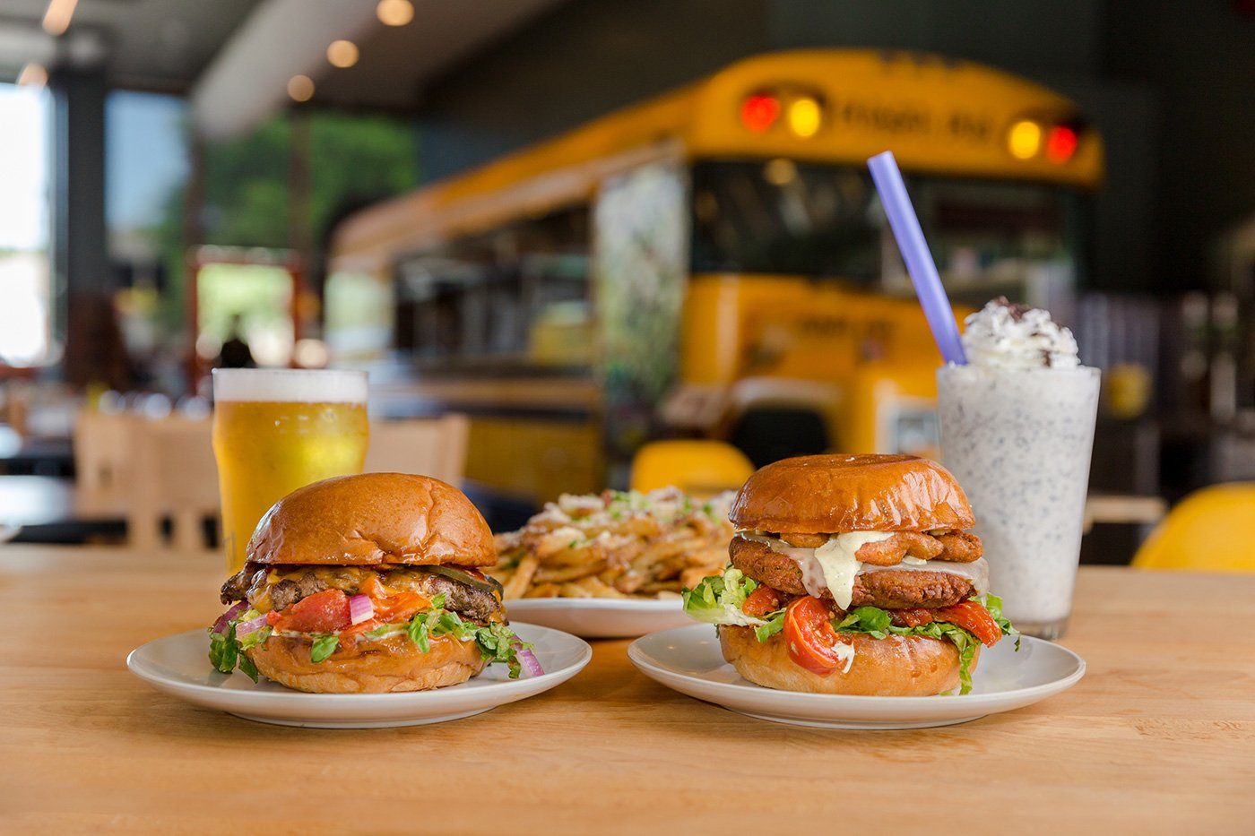 Bernie's Burger Bus Photography
