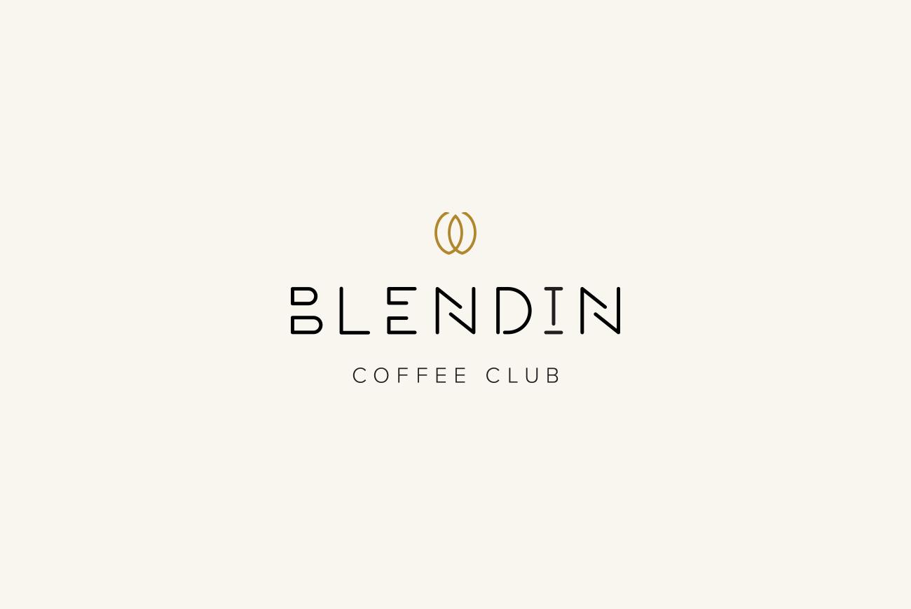 Blend In Coffee Club logo