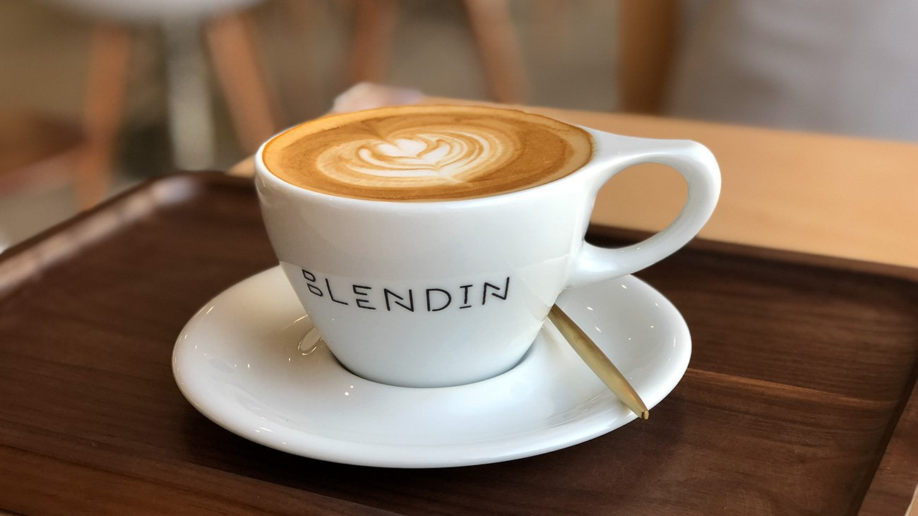Coffee in Blend In cup
