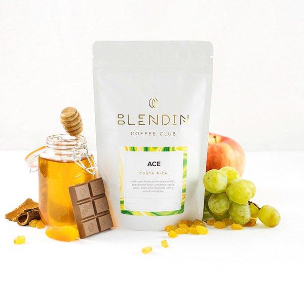 Blend In Coffee Packaging Design