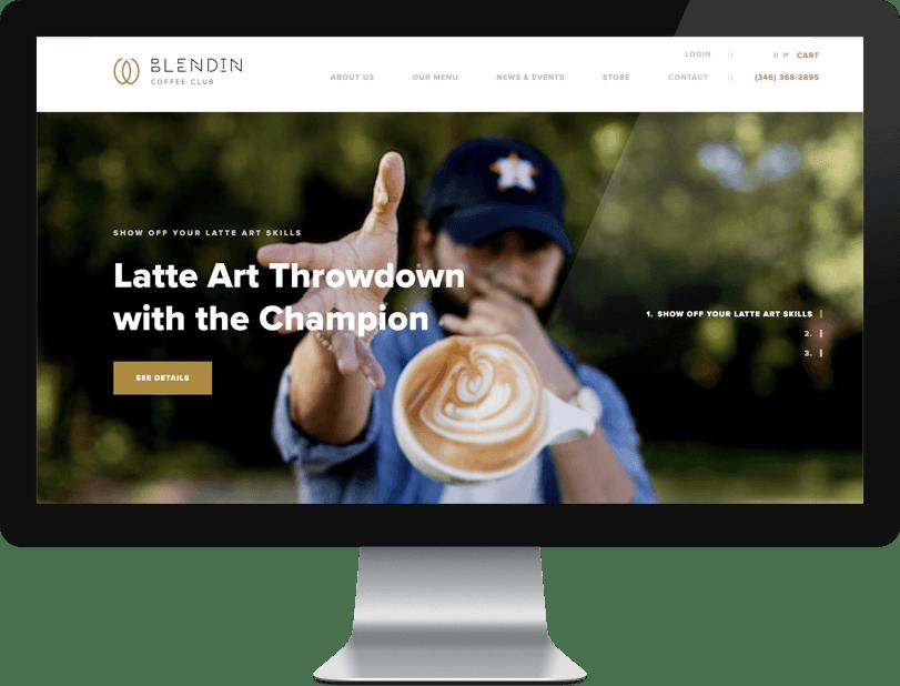 Blend In Website Design