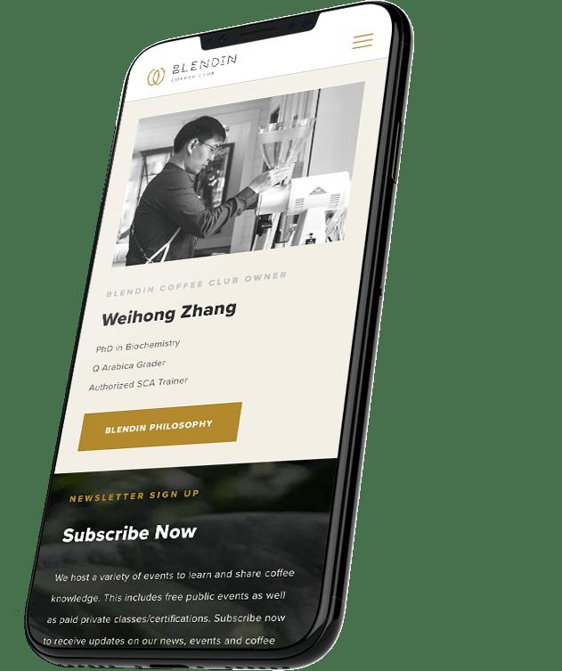 BlendIn Responsive Website Design