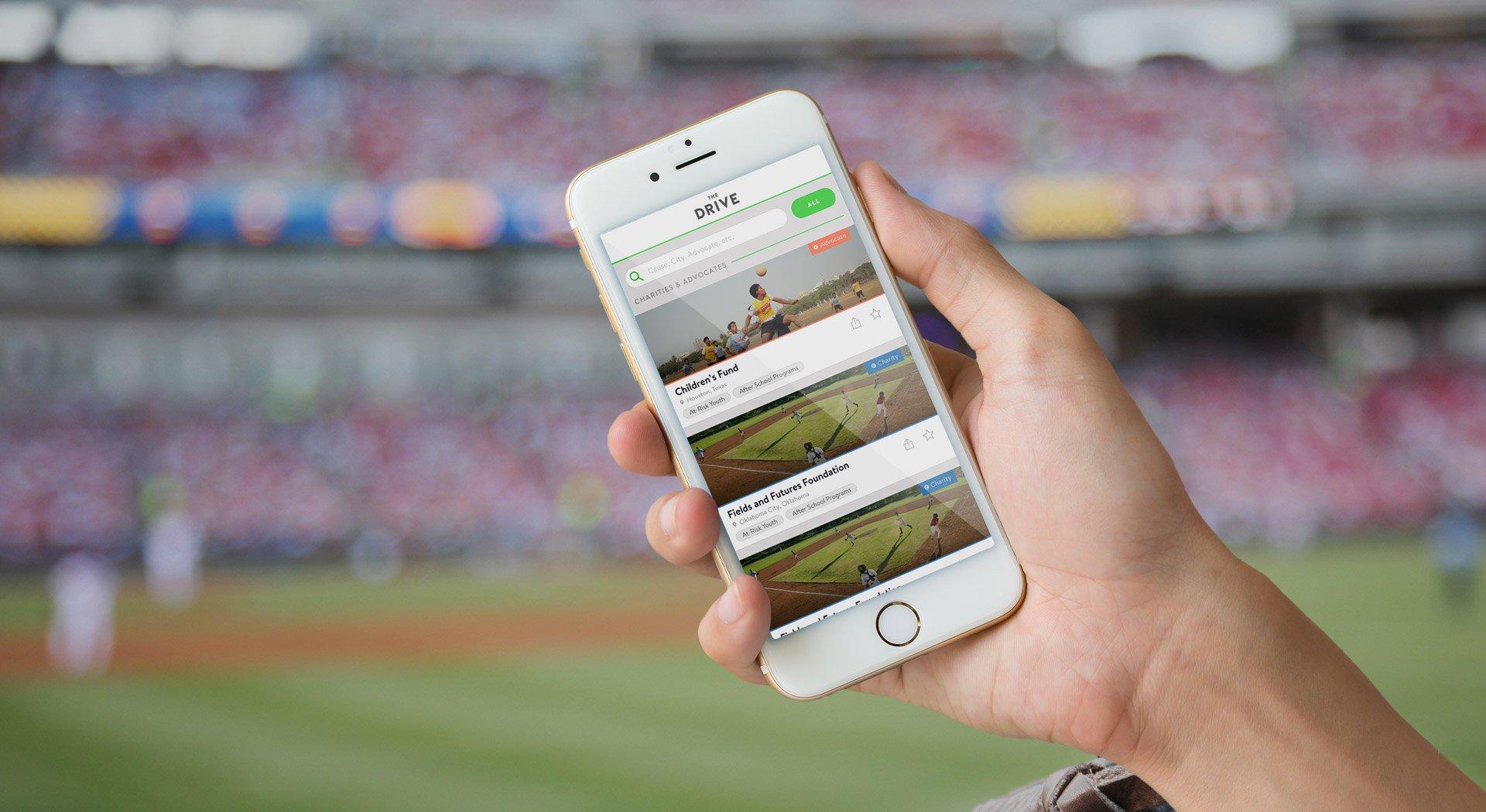 The Drive Mobile App Design