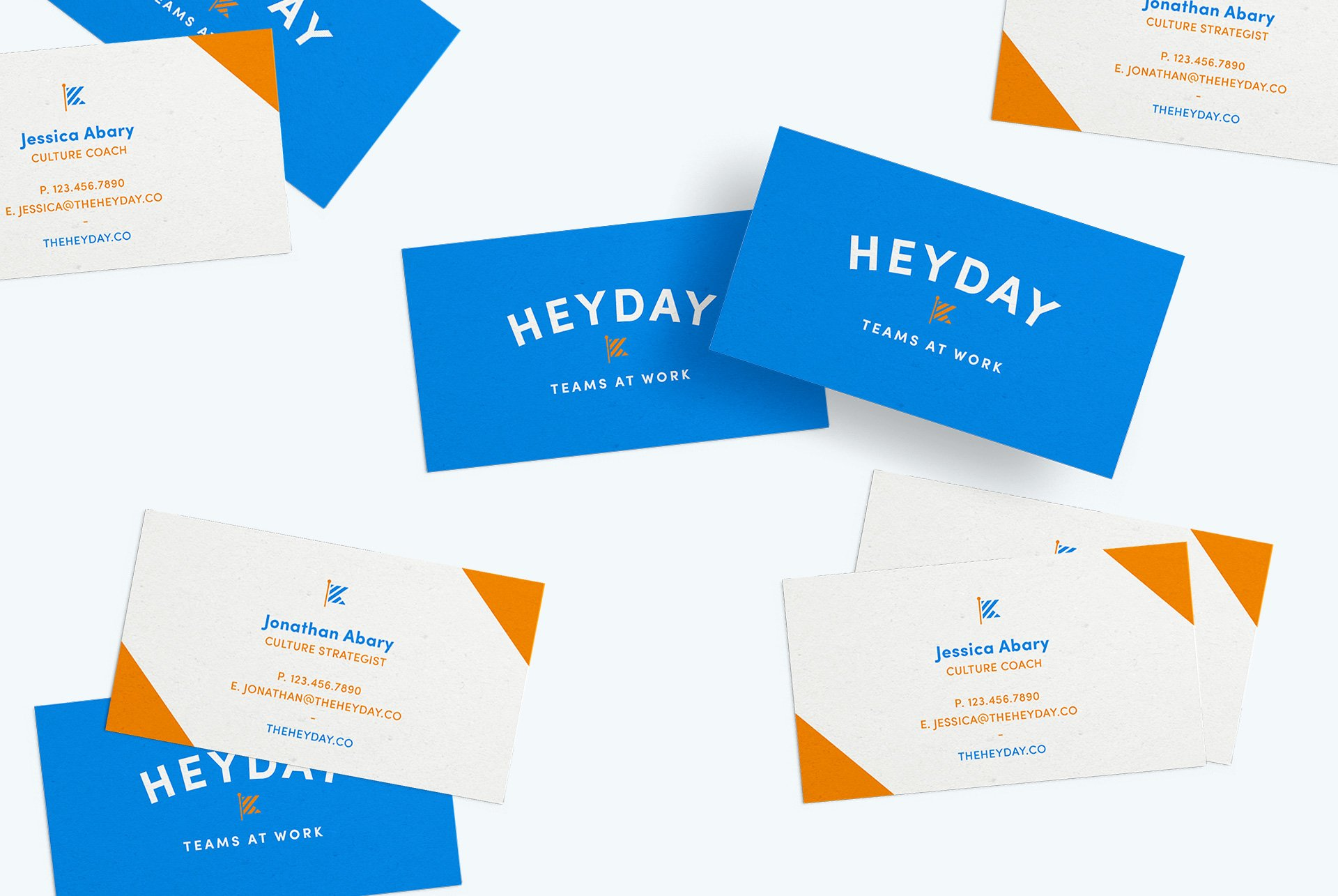 heyday business cards