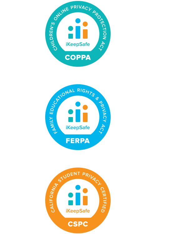 iKeepSafe Certification Badge Designs