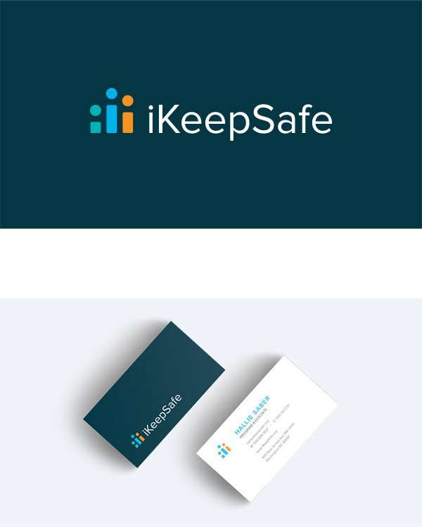 iKeepSafe logo & business card design