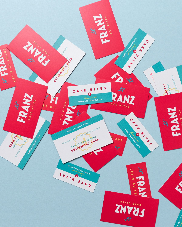 Lil' Franz Business Card Designs