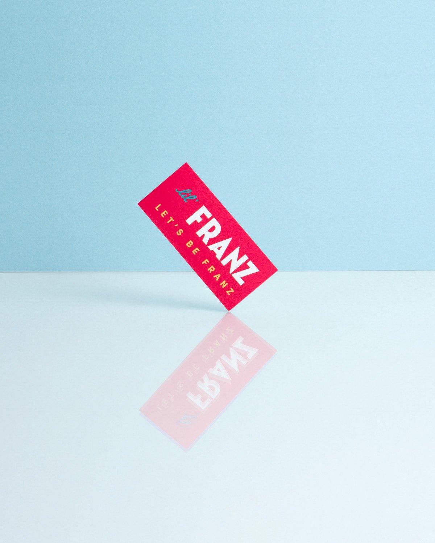 Lil' Franz Business Card Printing