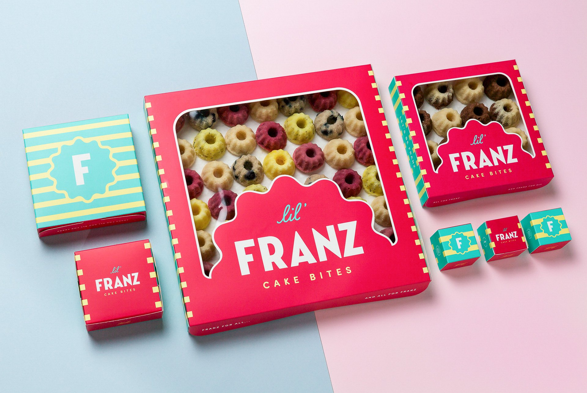 Lil' Franz Packaging Design