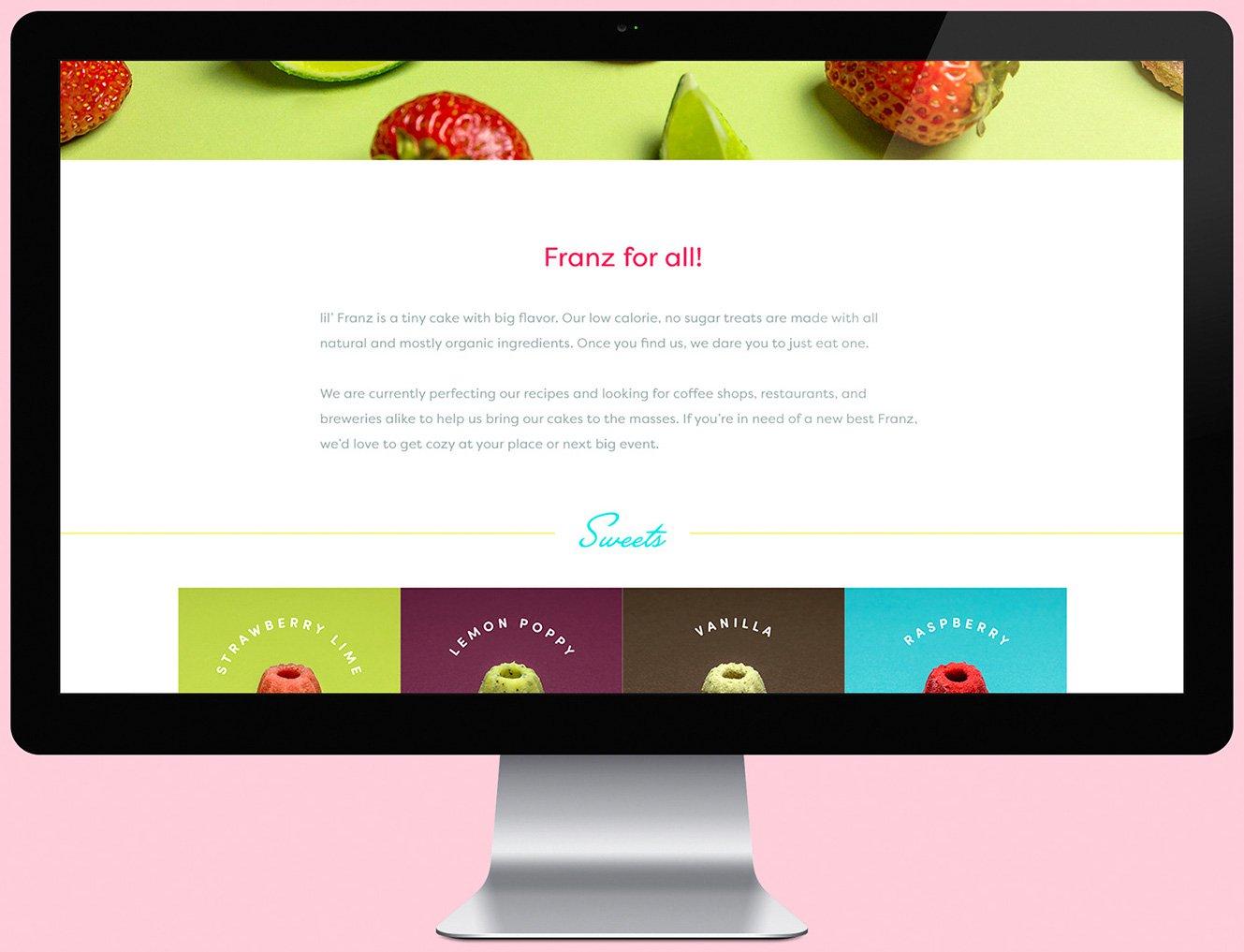 Lil' Franz Website Design