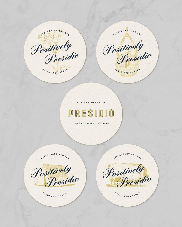 Presidio Drink Coasters Design