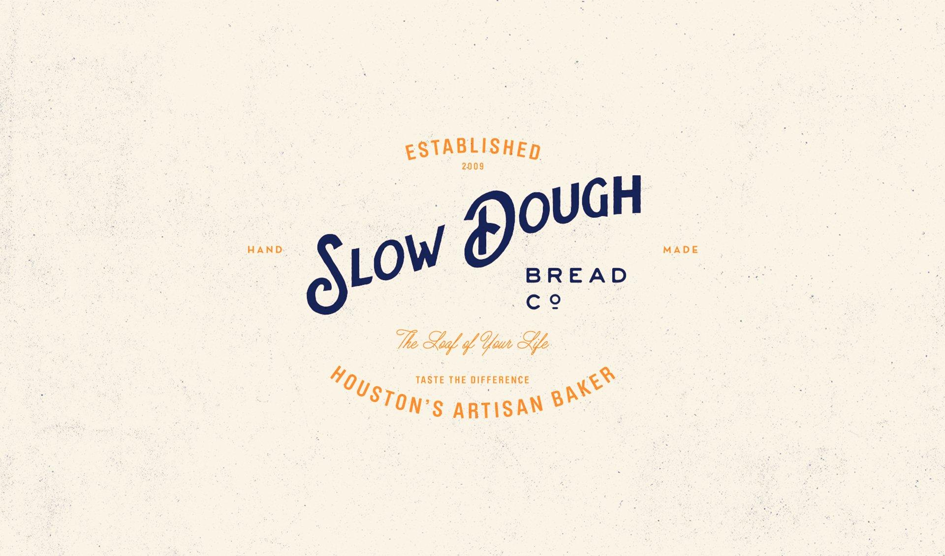 Slow Dough Branding Identity Logo