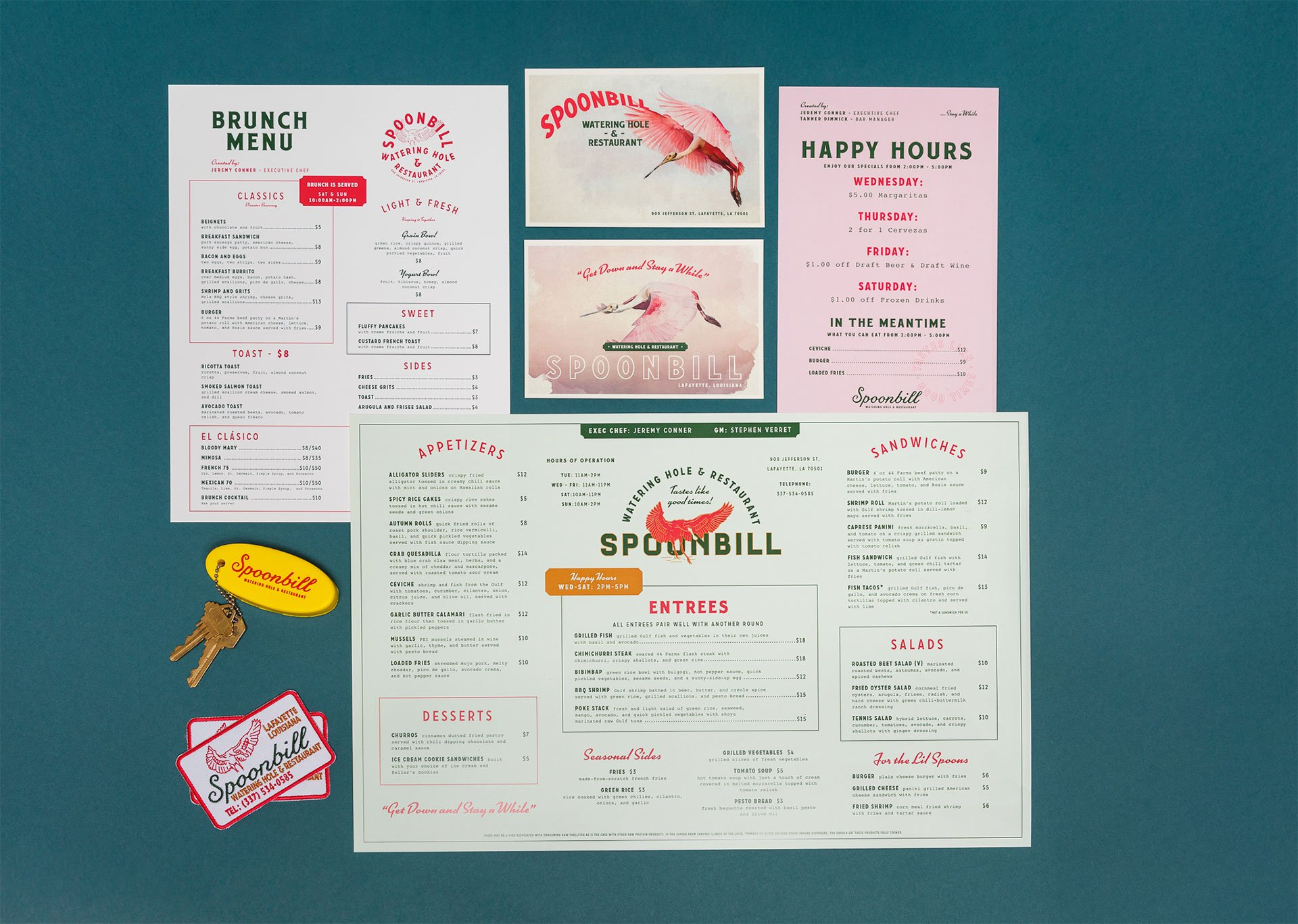 Restaurant Menu Design – Houston